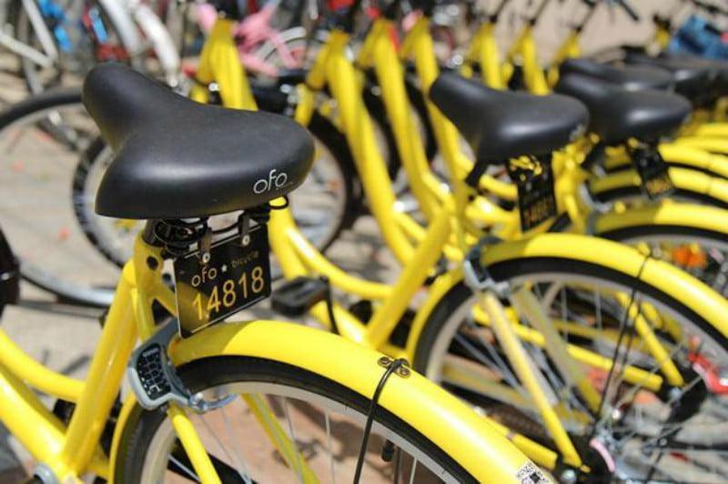 Plataforma chinesa de bike sharing pedala até Portugal