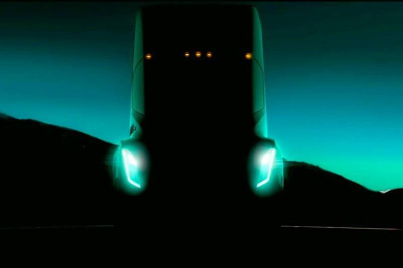 Tesla - camião - logistica e Transportes Hoje