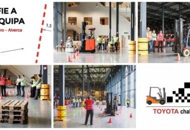 Toyota organiza torneio de operadores de empilhador para promover segurança
