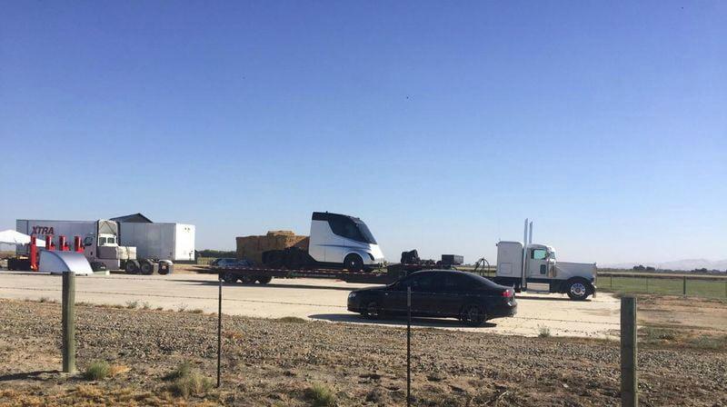 camião Tesla - Reddit