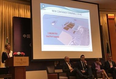 Apresentação Porto de Leixões na China