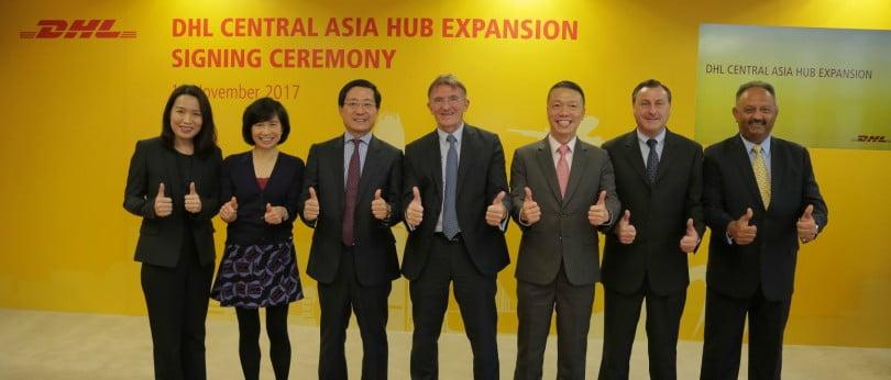 DHL investe 335 M€ na expansão de Hub da Ásia Central