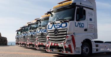 Laso Transportes vai investir 10 M€ em 2018