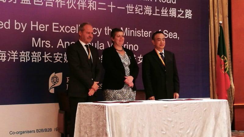 Porto de Sines reforça relações com operadores chineses