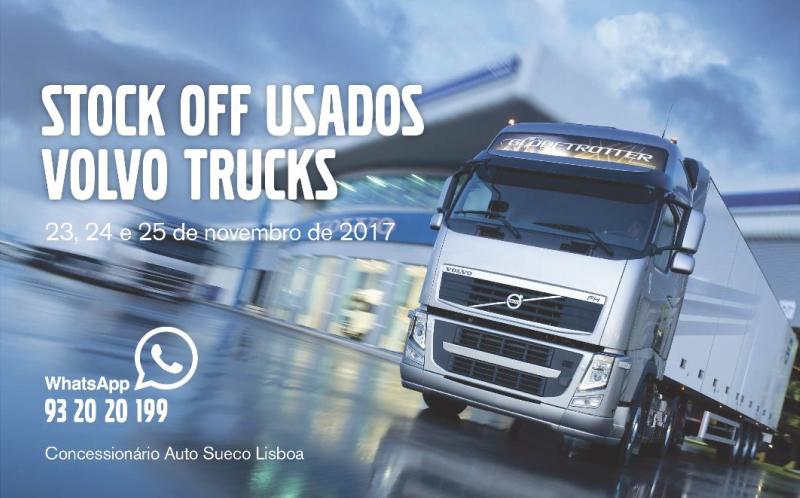 Auto Sueco organiza exposição de camiões usados