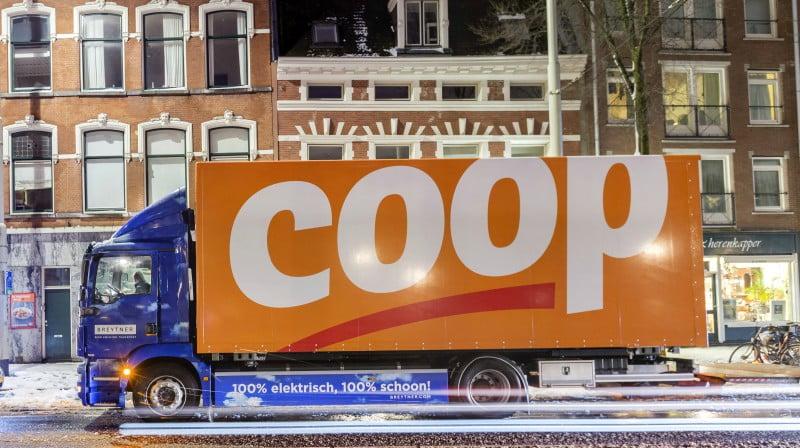 Coop Holanda testa veículo elétrico para fornecimento das lojas