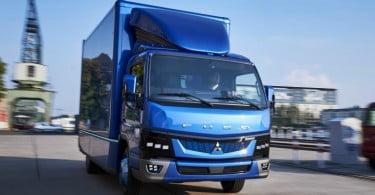 Fuso entrega as primeiras unidades do camião elétrico eCanter