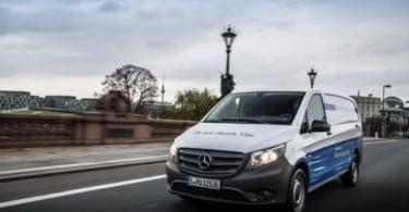 Mercedes-Benz Vans vai equipar todos os veículos comerciais ligeiros com propulsão elétrica