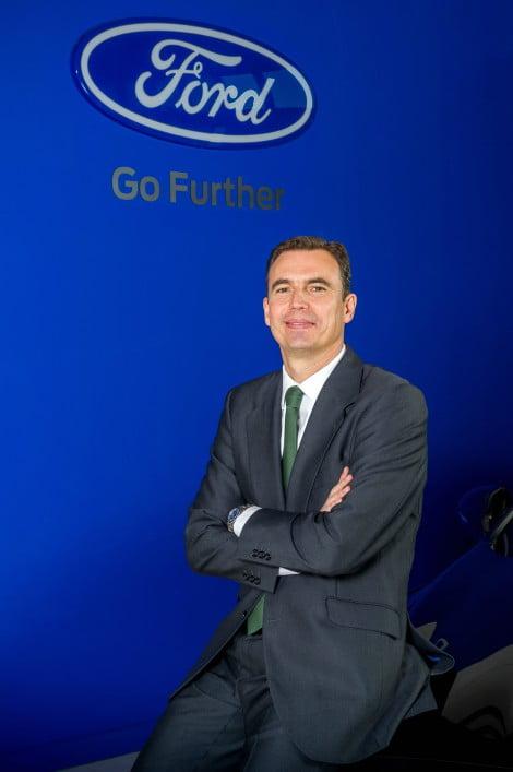 António Chicote, Diretor de Veículos Comerciais da Ford Ibéria