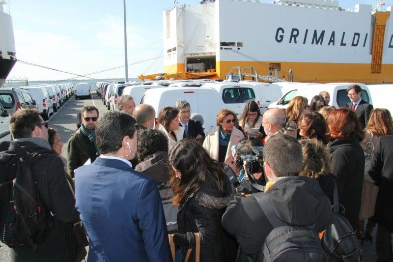 Porto de Setúbal recebe visita do Grupo Parlamentar do CDS-PP