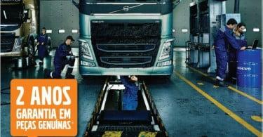 Camiões e autocarros Volvo vão ter garantia de dois anos em peças genuínas