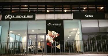 Lexus investe 500 mil euros em novo conceito de retalho