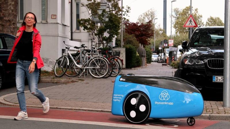 Thyssenkrupp cria robot para entregas urbanas