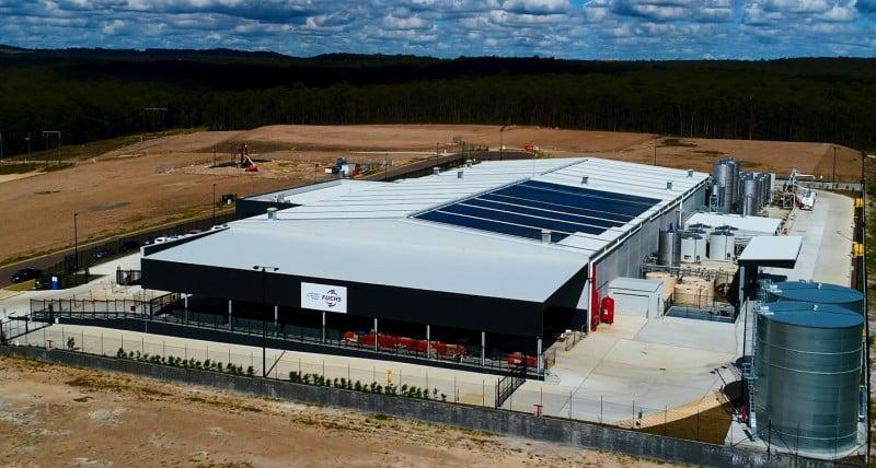 Fuchs abre unidade de produção na Austrália