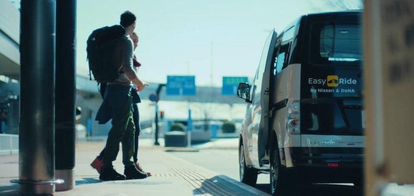 Nissan testa táxis autónomos