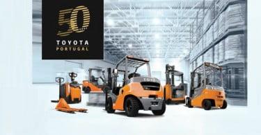 Toyota celebra 50 anos em Portugal
