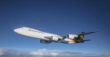 UPS lança voo diário sem escalas entre os EUA e o Médio Oriente