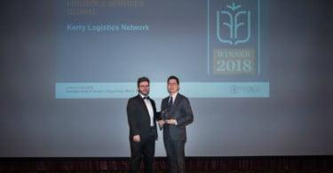 Kerry Logistics distinguida pela inovação e liderança