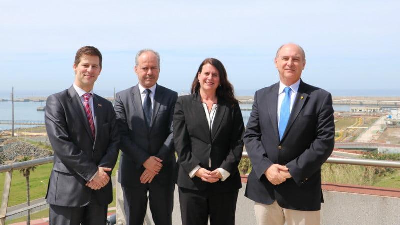 Embaixada dos EUA visita Porto de Sines