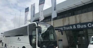 LP Tours reforça frota com MAN Lion's Coach de 13 metros e 2 eixos