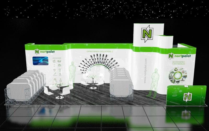 Nortpalet apresenta soluções na Hispack 2018