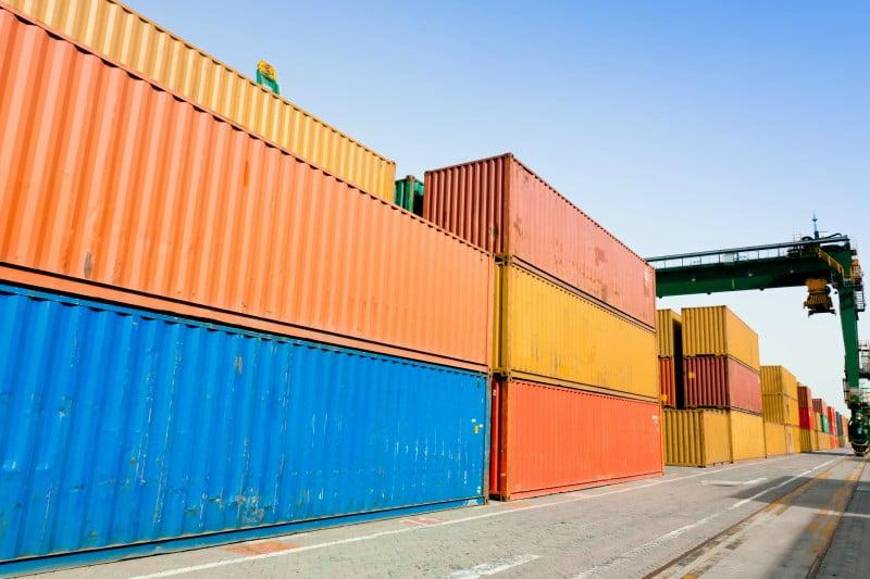 Movimentação de carga nos portos nacionais em rota descendente