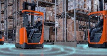 Toyota Material Handling integra telemática em todos os equipamentos de armazém elétricos