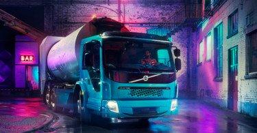 Volvo Trucks apresenta novo camião elétrico para distribuição urbana