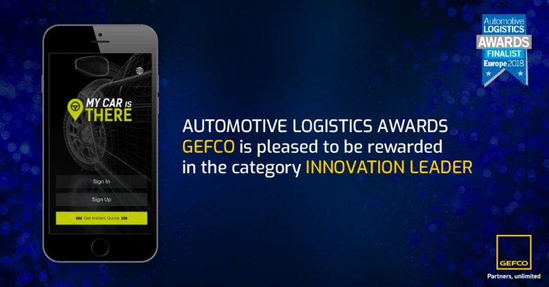 GEFCO distinguida pela inovação da sua nova app