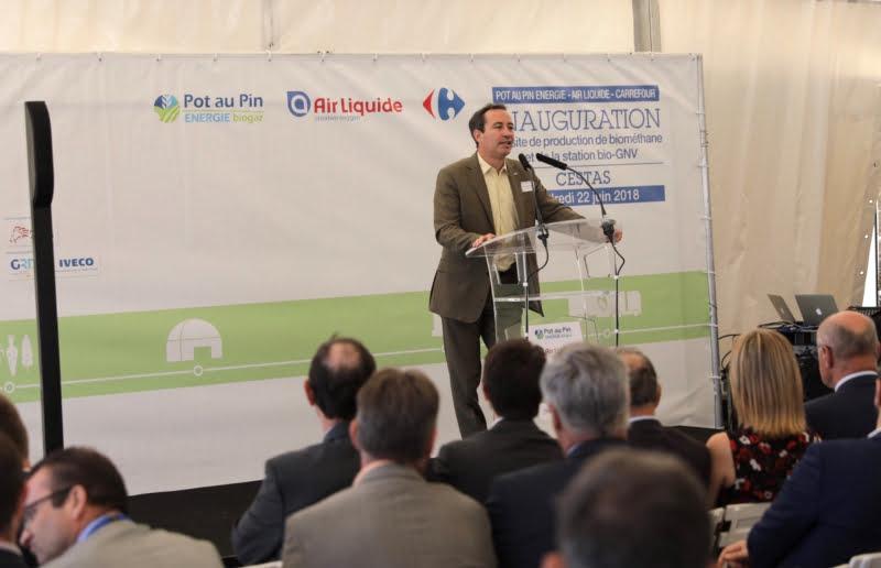 Carrefour e Air Liquide abrem unidade de produção biometano