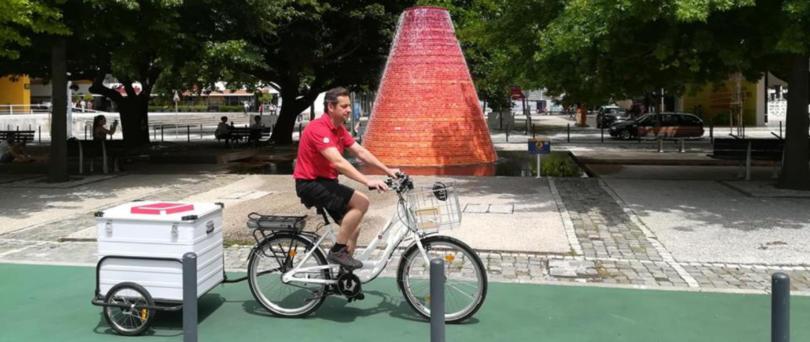 Chronopost já faz entregas com bicicletas elétricas em Lisboa