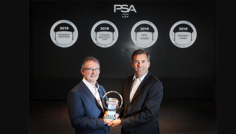 Nova geração de comerciais ligeiros do Grupo PSA vence 'Furgão do Ano'