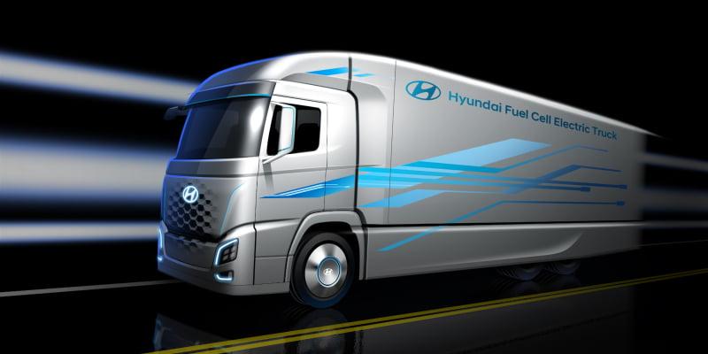 Hyundai apresenta novo 'camião ecológico'