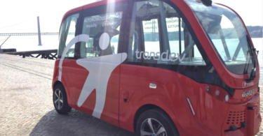 Autocarro autónomo da Transdev chega a Portugal