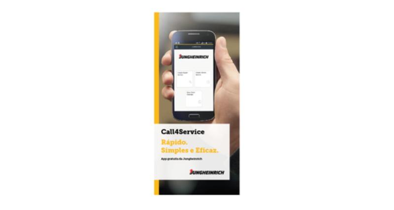 Jungheinrich lança app de assistência pós-venda