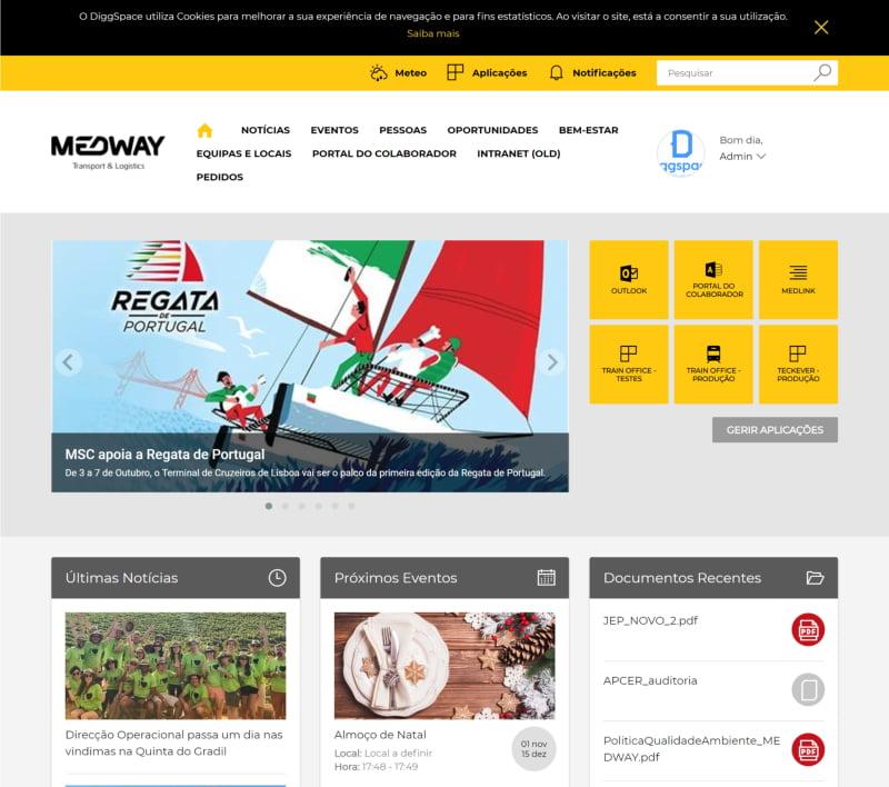 Medway lança canal de comunicação interna