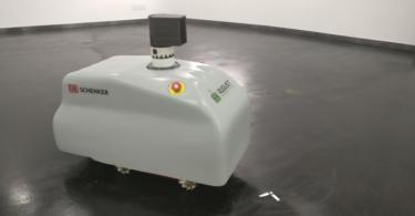 DB Schenker e August Robotics criam robot autónomo para feiras de negócios
