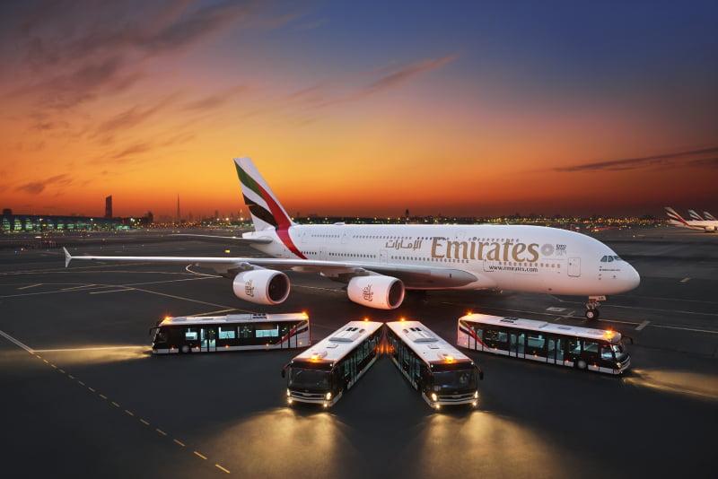 Emirates cria rede de autocarros tecnológica