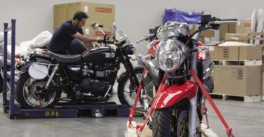 GEFCO cria solução para rastrear atrelados de motociclos