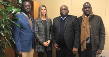 Leixões recebe a visita da Administração dos Portos da Guiné-Bissau