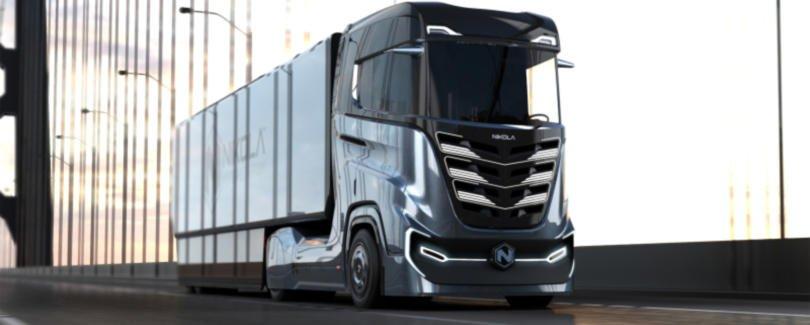 Nikola lança camião movido a hidrogénio para o mercado europeu