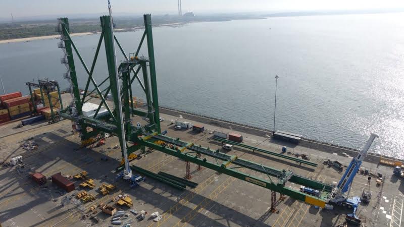Movimento de mercadorias nos portos nacionais cai 4,3% até outubro