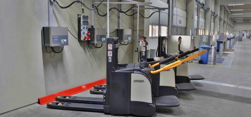 Dachser vai usar apenas equipamentos com baterias de iões de lítio