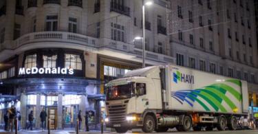 HAVI e a Scania minimizam pegada ambiental da McDonald's em Espanha