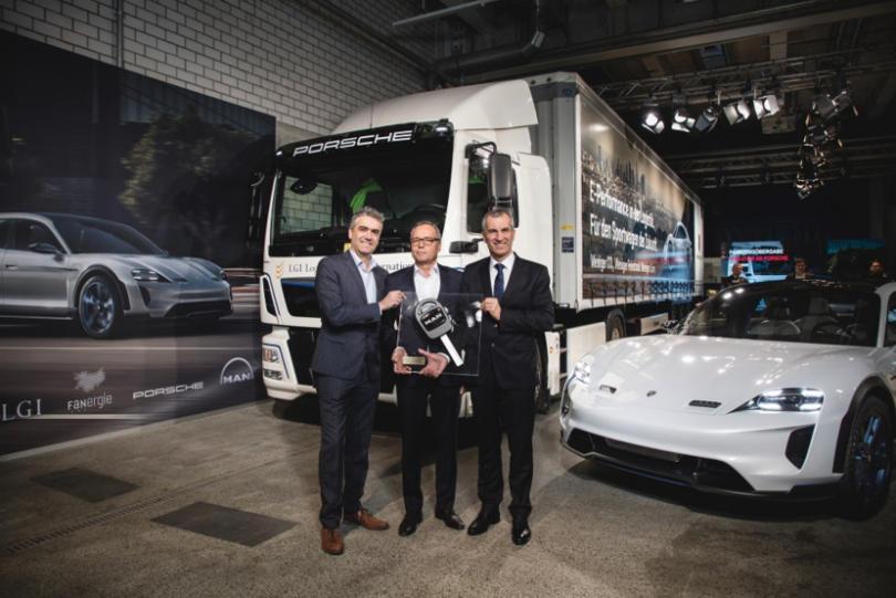 Porsche opta por eTGM da MAN para logística amiga do ambiente