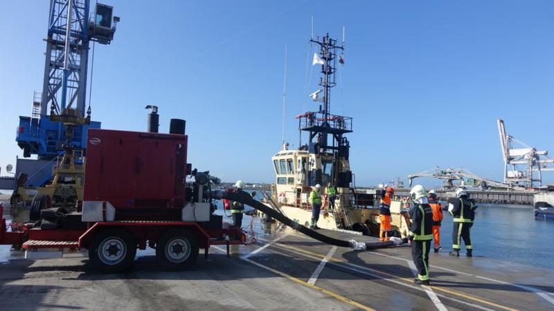 Porto de Sines realiza simulacro de segurança