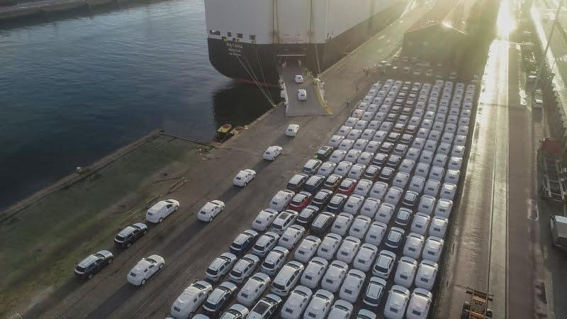 Portos do Continente movimentam 77,8 milhões de toneladas de carga