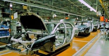 Produção automóvel cai 1,7% em julho