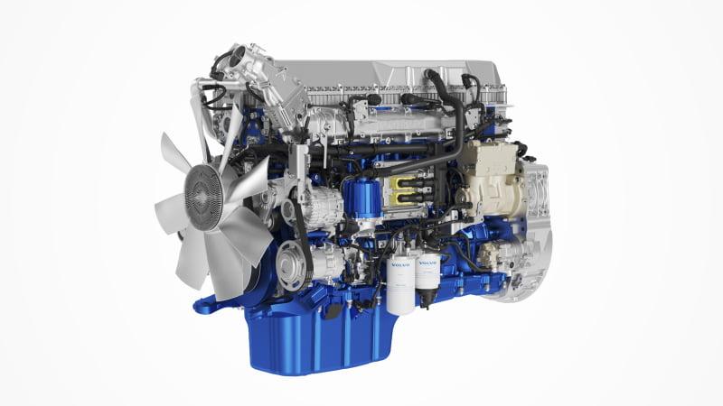 Volvo Trucks lança novas versões dos motores a diesel D11 e D13