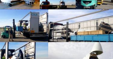 Olicargo transporta dois helicópteros de Portugal para a Colômbia